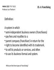 Chapter-6-Franchising