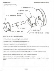 Notes on the Belt Drive Assembly