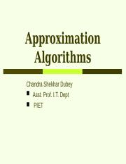 8_ApproximationAlgorithm