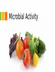 3-Microbial Activity and Food Safety and Sanitation-2.pptx