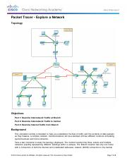 10.3.1.2 Packet Tracer - Explore a Network.pdf