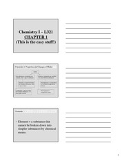 Chapter 1 PPt Student Handouts