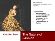 Dynamics of Fashion Chapter 02