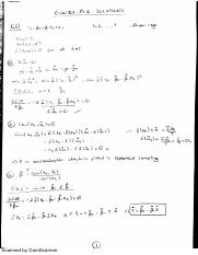Econ301 Problem Set 1 Solutions of the Selected Questions - Homework 1