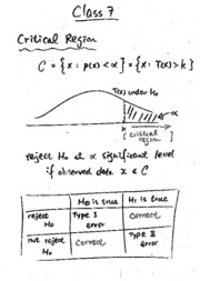 Tutorial 7 (notes and solution)