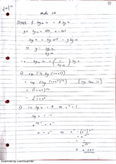 Trigonometric Functions Lecture Notes 1