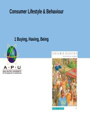 Chapter 1 Buying Having Being .ppt