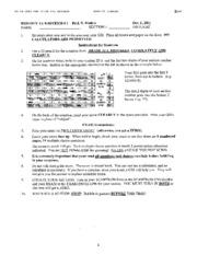 Biology 1A - Fall 2001 - Malkin - Midterm 1