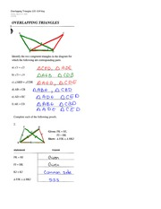 Correlated Triangles Homework