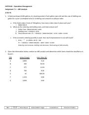 MGT434X_Assignment_7_1_ABC_Analysis