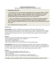 UMCP Role Playing Handout_Sri