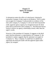 Chapter 32 Agency by Estoppel Example (1).docx
