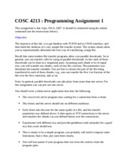 CSE 4213 Assignment 1