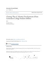 Chasing Plan A_ Identity Development of First-Generation Colleg