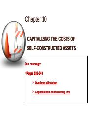03282014_Chapter 10_self-constructed asset