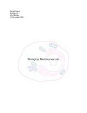 biological membranes lab