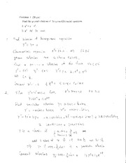 ODE 2012 midterm 2 solutions