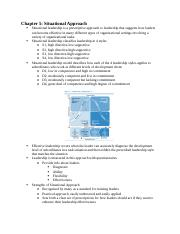 Leadership: Theory and Practices Chapters 5 and 8 Notes.docx
