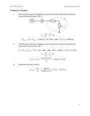 ECE 360 Assignment #4 Solutions