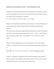 Solutions for practice problems for Exam 3