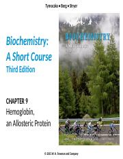 Chapter 9 Hemoglobin an Allosteric Protein.pptx