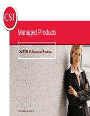 CSC Ch24_Structured Products(1).ppt