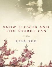 Lisa-See-Snow-Flower-and-the-Secret-Fan