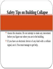 safety tips on building collapse.pptx