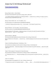 Chapter 16 Plant Biology Worksheets EnslinBiology home