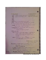 Solutions notes