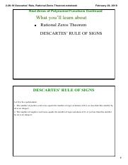 MATTHEW MACEY - 2-26-18 Descartes' Rule, Rational Zeros Theorem.pdf
