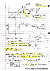 Intermediate Macroeconomics - IM Curve Notes