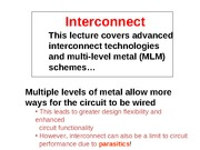 16 Interconnect S12