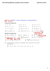 AFDA_Solving_Multi-step_Equations_Review