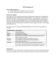 BS704 Assignment 8(1).docx