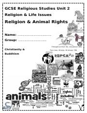 Animal rights booklet