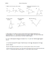 10 HO Trigonometry Review