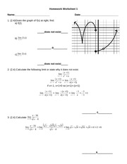 HomeworkWorksheet1Solutions
