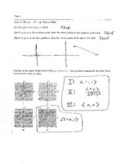 Exam 3 Solution Spring 2007 on Calculus and Analytic Geometry IV
