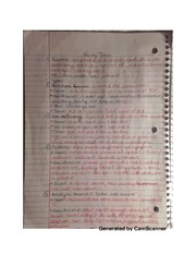 Anemia notes