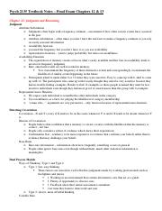Psych 2135 Textbook Notes – Final Exam Chapters 12.docx