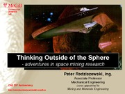 Lecture 5b - Thinking Outside of the Sphere