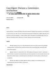 Mariano v. Commission on Elections.docx