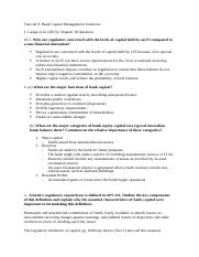 Tutorial 9 - Bank Capital Management Solutions.docx