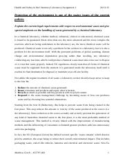 Health and Safety in the Chemistry Laboratory Assignment 2.docx