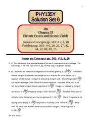 6 Solution Set 6 on chapter 18