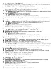 Exam 4 Cheat Sheet
