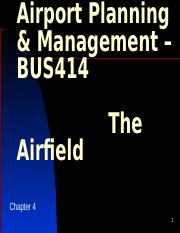 Chapter 4 - The Airfield.pptx