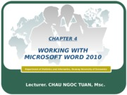 Information Technology-Chapter4