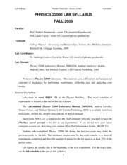 Phys220L_Lab_Syllabus_Fall2009